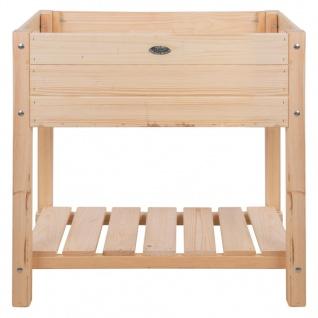 Esschert Design Hochbeet Blank Helles Holz S
