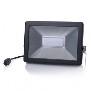 Smartwares LED-Flutlichtstrahler 50 W Schwarz FL1-B50B