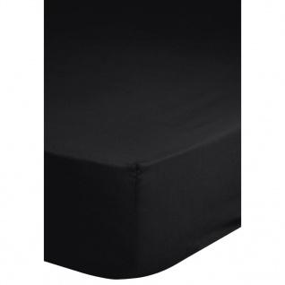 Emotion Bügelfreies Spannbettlaken 90x200 cm Schwarz 0220.04.42