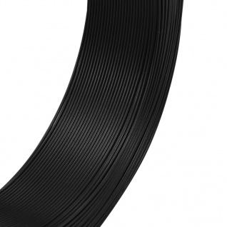 vidaXL Zaun-Bindedraht 250 m 0, 9/1, 4 mm Stahl Anthrazit - Vorschau 2