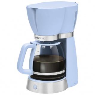 Clatronic Kaffeemaschine KA 3689 1, 7 L 1000 W Blau