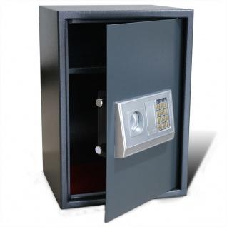 Elektronischer Safe Tresor mit Fachboden 35 x 31 x 50 cm
