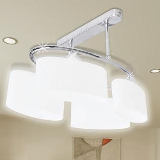 Beleuchtung Decken Leuchte Lampe Deckenlampe 4 x E14