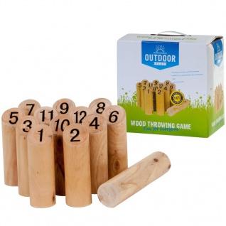 OUTDOOR PLAY Spiel Zahlenwurfspiel