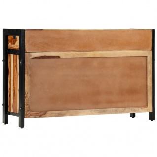 vidaXL Sideboard 120x35x75 cm Massivholz Palisander - Vorschau 5