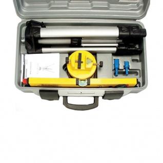 Brüder Mannesmann Laserwasserwaage mit Stativ - Vorschau 5