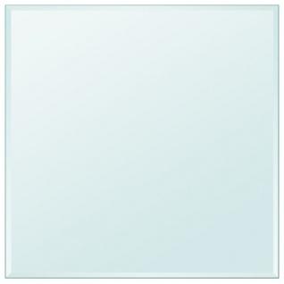 vidaXL Tischplatte aus gehärtetem Glas quadratisch 800x800 mm - Vorschau 2