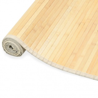 vidaXL Teppich Bambus 150 x 200 cm Natur
