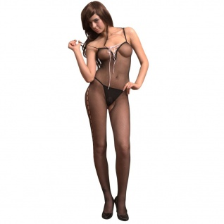 Sexy Damen Lingerie Body Stocking Dessous Einheitsgröße