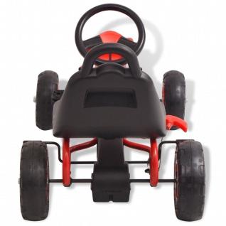vidaXL Pedal Go-Kart mit Luftreifen Rot - Vorschau 5