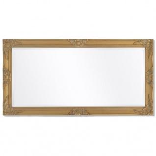 vidaXL Wandspiegel im Barock-Stil 120x60 cm Gold - Vorschau 5