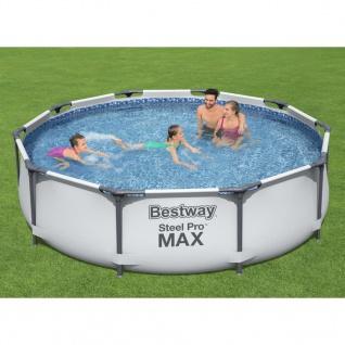 Bestway Steel Pro MAX Swimmingpool-Set 305x76 cm