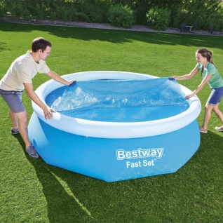 Bestway Solar-Poolabdeckung Flowclear 305 cm