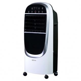 Qlima Luftkühler LK 2100 Touch 130 W Weiß und Schwarz