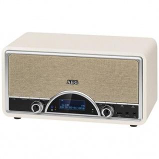 AEG DAB+ Radio mit RDS-Funktion NDR 4378 2×20 W Cremefarben