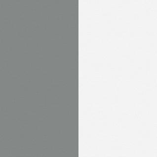 DUTCH WALLCOVERINGS Tapete Streifen-Design Grau und Weiß 7358-0