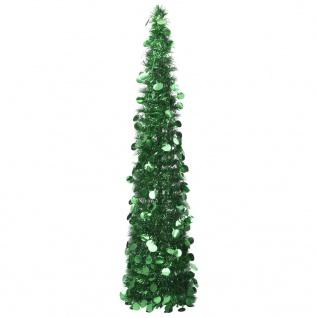 vidaXL Künstlicher Pop-Up-Weihnachtsbaum Grün 150 cm PET