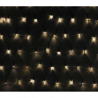 LED Lichternetz 7 x 0, 8 Meter wasserdicht