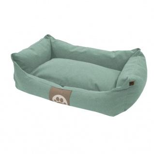 Overseas Hundebett Segeltuch 60x40x18 cm Eisblau