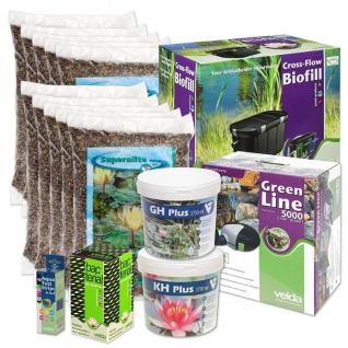 Velda Teichstartpaket für Teiche mit Pflanzen 10.000 L 181563