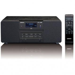 Lenco DAB+/FM Radio mit CD/MP3 Player DAR-050 Schwarz
