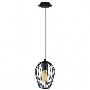EGLO Pendelleuchte Newtown 1 Lampe Schwarz