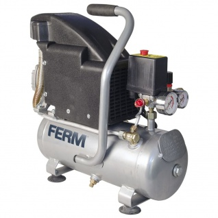 FERM Power Kompressor 1, 1 HP 750 W 8 l CRM1044