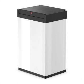 Hailo Abfallbehälter Big-Box Swing Größe L 35 L Weiß 0840-131