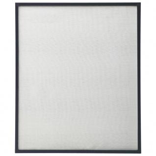 vidaXL Insektenschutz für Fenster Anthrazit 100x120 cm