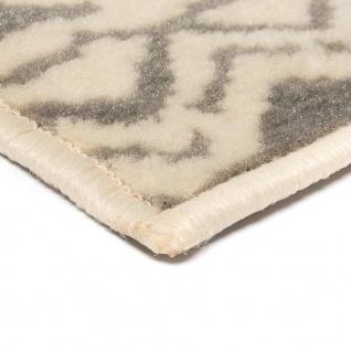 vidaXL Teppich Modern Zickzack-Design 160 x 230 cm Beige/Grau - Vorschau 4