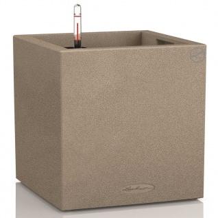 LECHUZA Pflanzgefäß Canto Color Square 40 Komplett-Set Beige 13721 - Vorschau 1