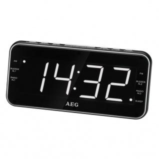 AEG Uhrenradio mit USB-Anschluss MRC 4157 Schwarz