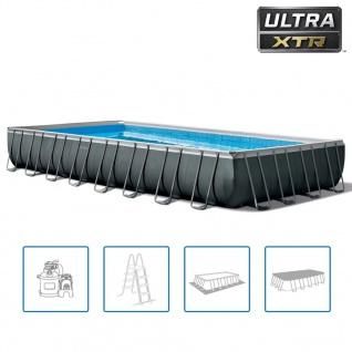 Intex Swimmingpool-Set Ultra XTR Frame Rechteckig 975 x 488 x 132 cm