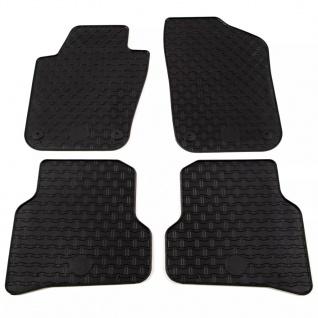 vidaXL Gummi-Fußmatten-Set 4-tlg. für VW Polo Ibiza - Vorschau 1