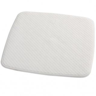 RIDDER Duscheinlage Antirutschmatte Capri 54×54 cm Weiß 66281