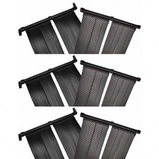 vidaXL Solar-Panel Poolheizung 6 Stk. 80x620 cm