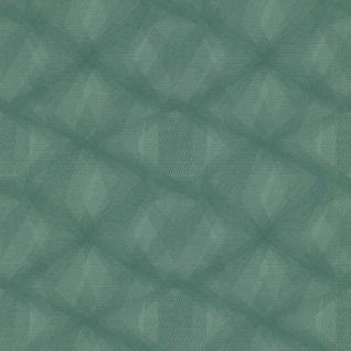 couleurs & matières Tapete Diamond Lines Grün - Vorschau 2