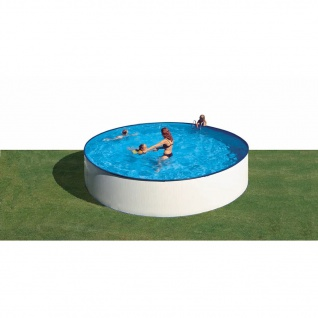 Gre Pool-Set Ibiza Rund Weiß 450cm KITWPR45