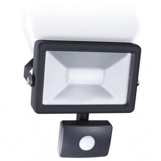 Smartwares LED-Flutlichtstrahler mit Sensor 30 W Schwarz SL1-B30B