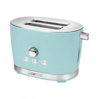 Clatronic 2 Scheiben-Toaster TA 3690 850 W Retro Mintgrün