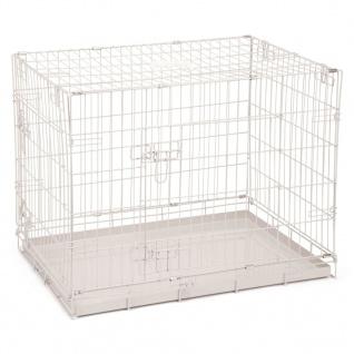 Beeztees Hundekäfig 78×55×61 cm Grau