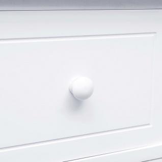 vidaXL Sideboard mit 10 Schubladen Weiß 113 x 30 x 79 cm Holz - Vorschau 3