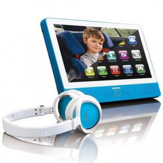 "Lenco Touchscreen Tablet mit DVD-Player 9"" Blau TDV-900"