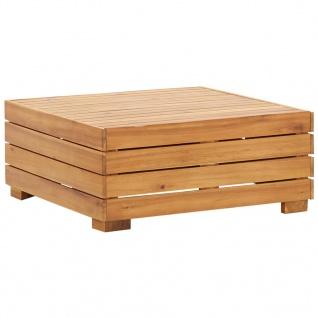 vidaXL Modular-Tisch 1 Stk. Akazien Massivholz