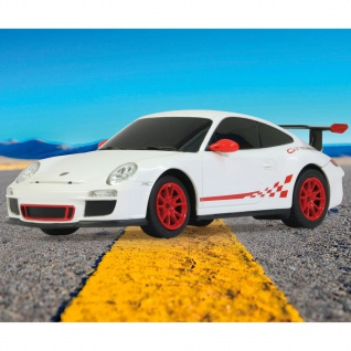 Jamara Ferngesteuertes Superauto Porsche GT3 RS 1:24 Weiß