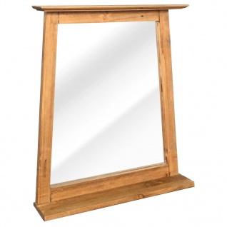 vidaXL Badezimmer-Spiegel Recyceltes Massivholz Kiefer 70×12×79 cm