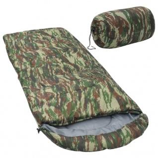vidaXL Schlafsack Camouflage 10? 1000g