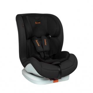 Baninni Autositz Fiero Isofix 1+2+3 Schwarz BNCS001-BK