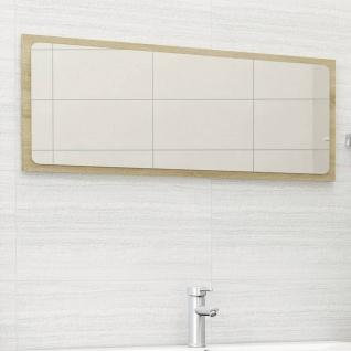 vidaXL Badspiegel Sonoma-Eiche 100x1, 5x37 cm Spanplatte