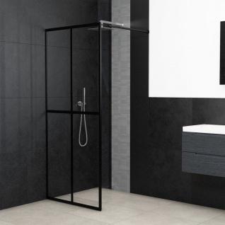 vidaXL Duschwand für Begehbare Dusche Sicherheitsglas 118×195 cm